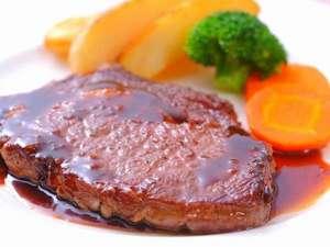 【ステーキ】メインディシュ約200gのステーキです