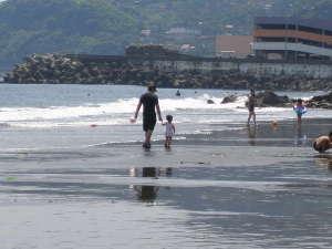 湯河原海水浴場!吉浜海岸♪夏休みの楽しい想い出作りは当宿で!