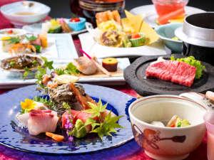 ~和の贅を尽くす。最高ランク 篝火2018夏~伊勢海老から甲州牛などの贅沢食材をふんだんに使用。