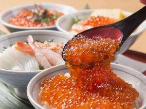 「ポップ」海鮮丼コーナー