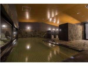 人工炭酸カルシウム温泉(男性大浴場)