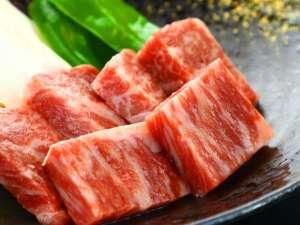 上州牛を贅沢にステーキで!お肉本来の美味しさをお楽しみください。