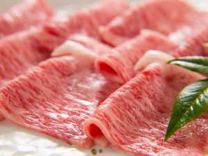 きれいなサシの入ったお肉