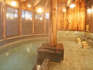 *美人蕉(ひめばしょう)の湯/女性大浴場。保温・保湿効果が高いと評判で美人の湯ともいわれています
