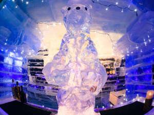 【冬期限定・アイスバー】昨年は熊さんのお出迎え★今年の動物は来てのお楽しみ♪(12/22 OPEN)