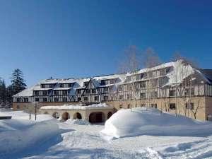 ■冬■ホテルを一歩出るとそこは白銀の世界