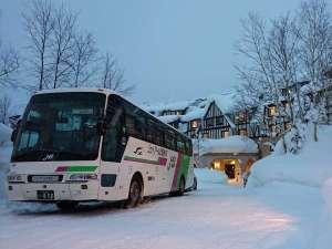 冬期間無料送迎バス