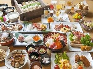 ■朝食:70種類の和洋バイキング※季節により料理内容は異なります。