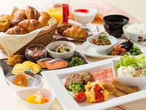 朝食ビュッフェ★6:00~9:30