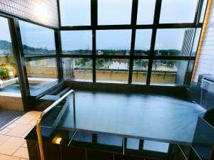 赤穂の塩辛い温泉 4階お風呂!