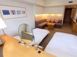 【客室一例】スーペリアツインルーム39.4平米 洗い場付きバスルーム