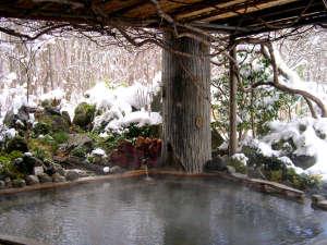 目の前に迫る雪景色!雪見露天を楽しみつつ、良質な源泉でお肌もツルツルに♪