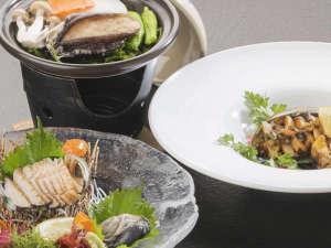 3つの調理法から選べる鮑料理 イメージ