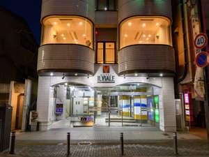 市内繁華街の中心にある、アクセスが便利なホテルです。