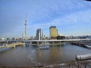 ◆川側客室からの眺め