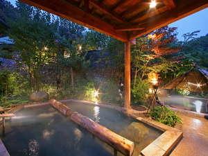 庭園縄文露天風呂