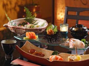 【会津郷土料理会席(一例)】ここでしか味わえない、心に残る会食をお楽しみください。