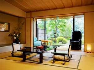 【飛天館】露天風呂付客室は当館の中では、ひっそりと隠れ家的な存在です。