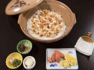 大人気:雲丹と鯛の絶品混ぜご飯