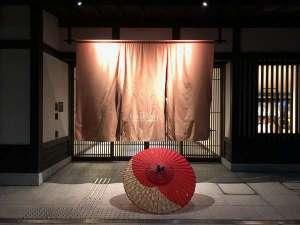 和傘と一緒に風情ある雰囲気で♪