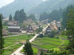世界遺産五箇山-相倉合掌集落 当館より高速約35分。菅沼合掌集落は30分です。