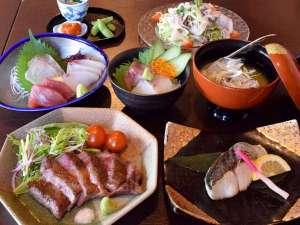 NEW!! 宮崎牛ステーキ&海鮮ドーン