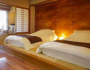 和室や洋室など様々なタイプの客室をご用意。