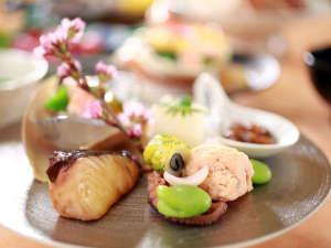【料理評価4.7】旬の食材を味だけでなく、目でも楽しめる会席料理※お料理イメージ