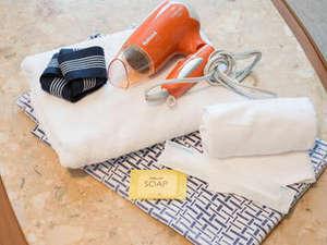 *【客室_アメニティ】浴衣・タオル・歯ブラシのご用意がございます!出張の方なら荷物も少なくて楽々♪