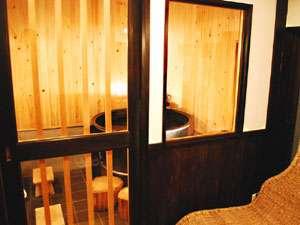【五右衛門風呂】レトロな雰囲気をお楽しみください。