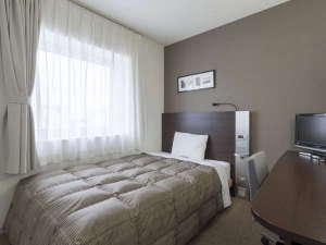 1ベッドルーム◆ダブルエコノミー◆13平米◆140cm幅ベッド