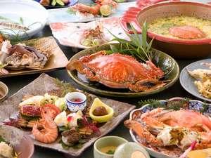 【竹崎かに旅館 海上館 ・ 美味堪能!お料理一例】