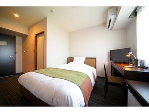 デラックスシングルルームベッドサイズ152cm部屋の広さ15㎡