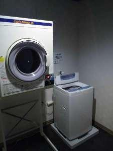 コインランドリー洗濯(40分200円)乾燥機(30分100円)洗剤もご用意してます!