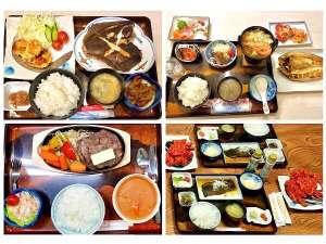 根室の食材を使用した夕食※当日の仕入れ状況によって変更になる場合がございます。