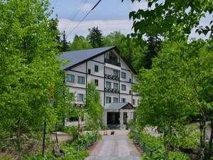 新緑の湧駒荘