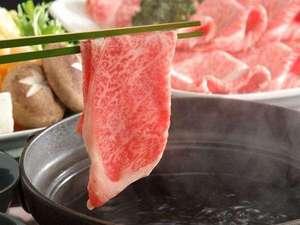 極上黒毛和牛サーロイン使用、出汁しゃぶしゃぶ!極上のお肉を極上のお出汁でどうぞ!