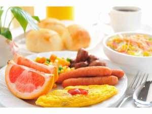 バイキング朝食(6:30-8:30)和・洋どちらでも、お好きな方を、お好きなだけ・・・