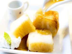 感動のフレンチトースト♪低温殺菌牛乳・美豊卵・愛媛県産生クリーム・自家製バターを使用♪