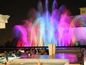 【ザ アクアガーデン】光と音が演出する幻想的な噴水ショー。必見です♪