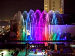 ザ アクアガーデン「噴水ショー」毎日開催しております!