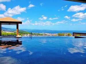 インフィニティ温泉として人気の大展望露天風呂「棚湯」