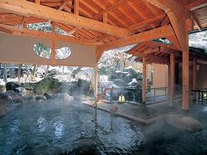 北陸ならではの雪景色を露天風呂でご満喫ください