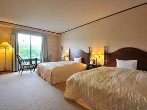 ジョージアキングタイプ(ダブルベッドが2台のお部屋です。)