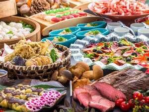 秋のディナーバイキングは「収穫祭」♪食欲を誘うメニューをご用意しております。