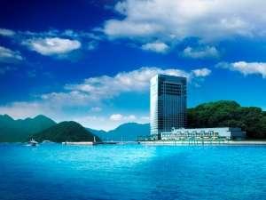 海と空に囲まれたアーバンリゾート グランドプリンスホテル広島