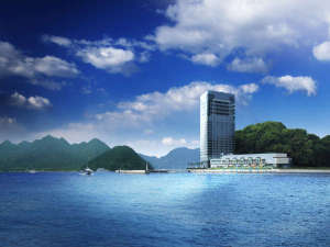 海と空に囲まれたアーバンリゾート グランドプリンスホテル広島)