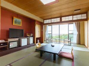和室10畳又は12畳一例バスなしトイレ付(昨年7月リニューアル) フリーwifi環境を全客室対応OK♪