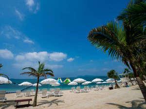 【カヌチャビーチ】静かで穏やかな時間が流れるビーチ