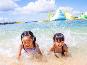 【カヌチャビーチ】わんぱくキッズも大満足!ドキドキわくわくの体験が満載!